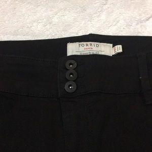 torrid Jeans - Torrid black jeggings size 20T